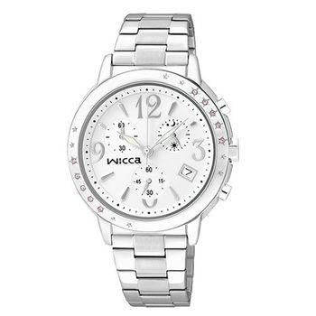 CITIZEN-WICCA-施華洛世奇系列-閃耀星空晶鑽腕錶-白-34mm/BM1-113-11