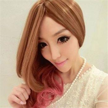 【米蘭精品】長假髮整頂假髮日系cosplay甜美可愛