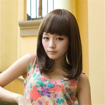 【米蘭精品】中長假髮整頂假髮日韓微彎甜美風格