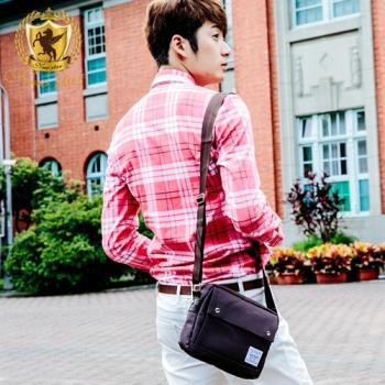 NEW STAR 韓系質感尼龍口袋側背包 斜背包 BL110