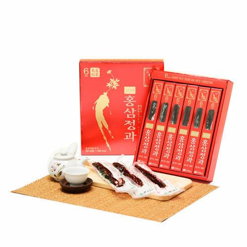 金蔘-6年根高麗紅蔘正果(300g/盒,共1盒)