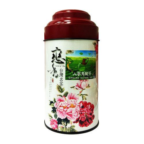 金蔘-人蔘烏龍茶(150g/罐)