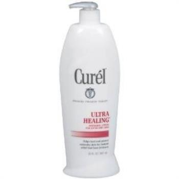 美國原裝進口Curel科潤身體乳液(特乾肌膚)13oz/384ml*2