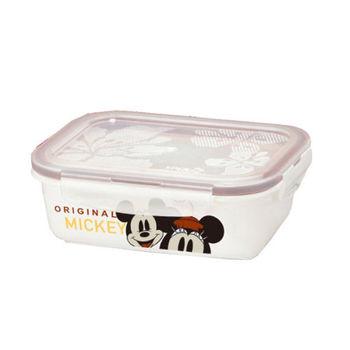 【迪士尼】米奇米妮陶瓷保鮮盒 CL-0058