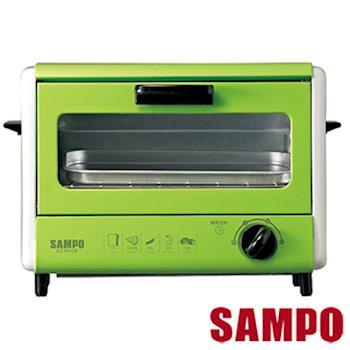 『SAMPO 』☆聲寶  6公升雙層電烤箱KZ-PH06