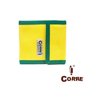 CORRE - 自我風格MIT原色系三折短夾-共2色