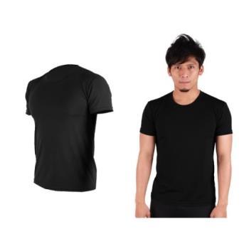 【HODARLA】S-3XL男女FLARE 100 男女吸濕排汗衫 短袖T恤 台灣製  黑