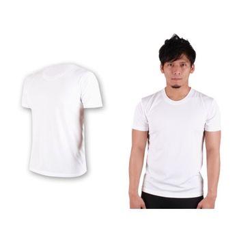 【HODARLA】S-3XL男女FLARE 100 男女吸濕排汗衫 短袖T恤 台灣製  白