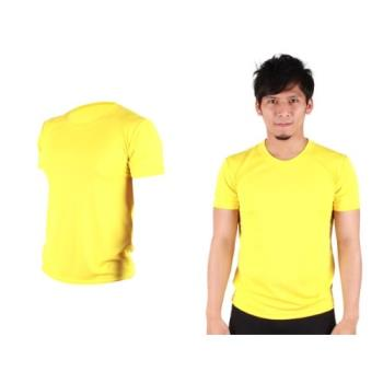 【HODARLA】S-3XL男女FLARE 100 吸濕排汗衫 短袖T恤 台灣製  亮黃