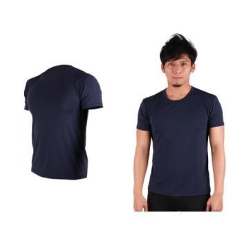 【HODARLA】S-3XL男女 FLARE 100 吸濕排汗衫 短袖T恤 台灣製  丈青