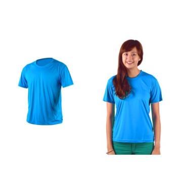 【HODARLA】XS-3XL激膚無感衣 男女涼感短T恤-0秒吸排抗UV輕量吸濕排汗無著感 藍