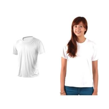 【HODARLA】XS-3XL激膚無感衣 男女涼感短T恤-0秒吸排抗UV輕量吸濕排汗無著感 白