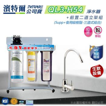 Everpure 濱特爾公司貨 QL3-H54 三道淨水器