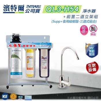 Everpure 濱特爾公司貨 QL3-H54 二道淨水器