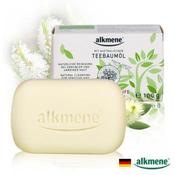 【德國Alkmene】茶樹精油淨膚抗痘香皂100g