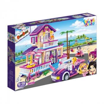 【BanBao 積木】沙灘女孩系列-渡假別墅 6122