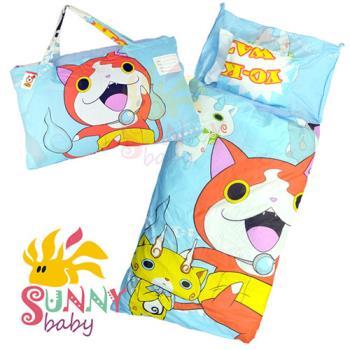 【Sunnybaby生活館】- 卡通造型幼教兒童睡袋-妖怪手錶