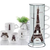 艾菲爾疊疊陶瓷杯組