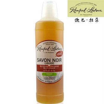 【來自南法 歐巴拉朵】亞麻油黑肥皂-杏仁 (加贈試用包1包)
