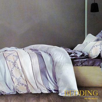 【BEDDING】似水流年  天絲雙人床包兩用被組100%TENCEL