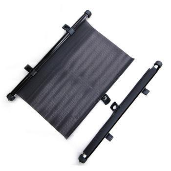 YARK捲簾式側窗遮陽簾4入 (車用/汽車/遮陽/隔熱/防曬)