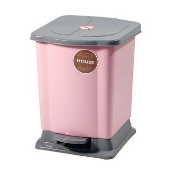 好媽媽踏式垃圾桶迷你-粉紅色
