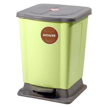 好媽媽踏式垃圾桶迷你-綠色
