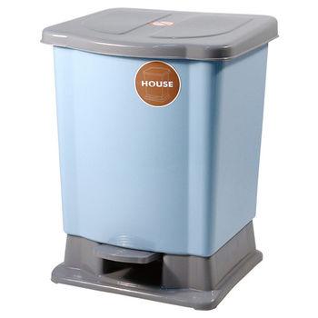 好媽媽踏式垃圾桶迷你-藍色