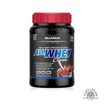 【加拿大ALLMAX】奧美仕乳清蛋白巧克力口味飲品1瓶 (908公克)