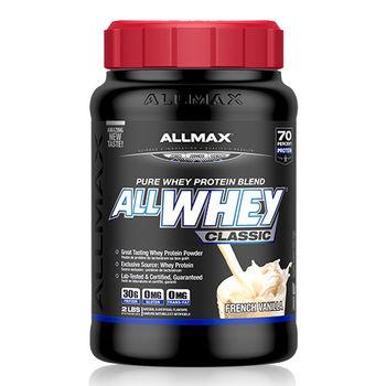 【加拿大ALLMAX】奧美仕乳清蛋白香草口味飲品1瓶 (908公克)