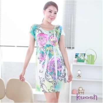 【kuosh】美國時尚幸福色彩洋裝FB-0017