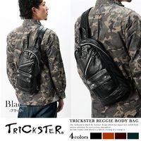 ~TRICKSTER~ 品牌 斜背包 腳踏車包 A5 單肩後背包 側背包 皮革感 都會潮流