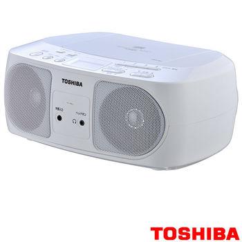 【TOSHIBA】便攜式手提音響 TY-CRS12 白色