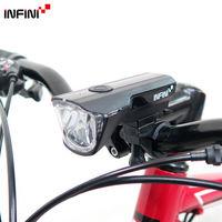 【INFINI】SATURN I-310P 1W超高亮度白光LED警示燈3模式頭燈 前燈