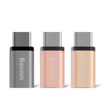 【BASEUS】Micro USB to USB Type-C 銳系列轉接頭