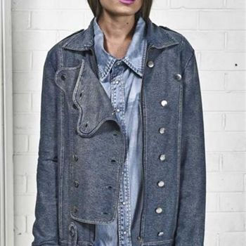 OneTeaspoon HUSK CAVALRY JACKET 夾克 OTS - 女(古典藍)
