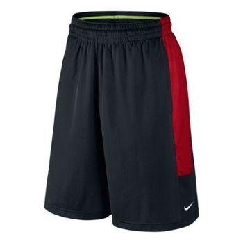 【Nike】2016男時尚Cash籃球黑紅色休閒運動短褲(預購)