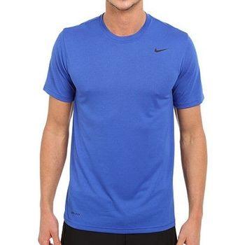 【Nike】2016男時尚Legend皇家藍色機能圓短袖ㄒ恤(預購)