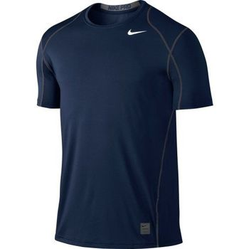 【Nike】2016男時尚Pro Cool寶藍色合身圓短袖ㄒ恤(預購)