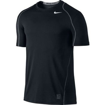 【Nike】2016男時尚Pro Cool黑色合身圓短袖ㄒ恤(預購)