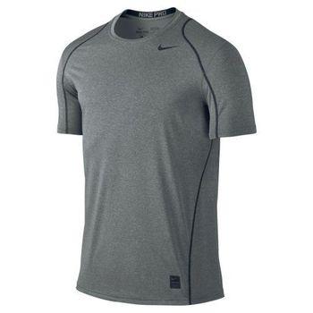 【Nike】2016男時尚Pro Cool碳灰色合身圓短袖ㄒ恤(預購)