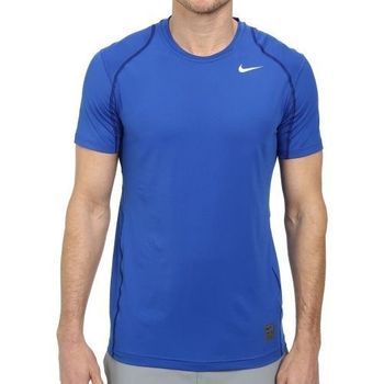 【Nike】2016男時尚Pro Cool皇家藍色合身圓短袖ㄒ恤(預購)