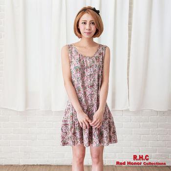 【R.H.C】ELASTA無袖低腰洋裝