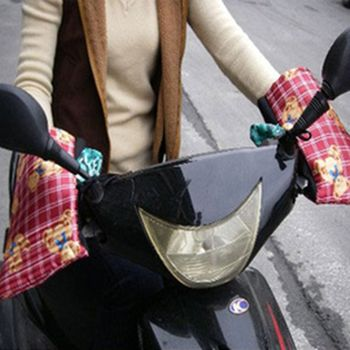 新型手套防寒防曬防風機車手把套-2雙