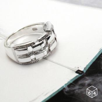 ART64 戒指 Shape造型系列-壯麗之道 鏤空造型 925純銀戒指