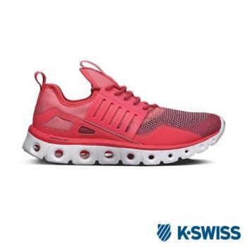 K-Swiss Tubes Runner CMF輕量訓練鞋-女珊瑚粉/白