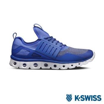 K-Swiss Tubes Runner CMF輕量訓練鞋-男-深藍/白