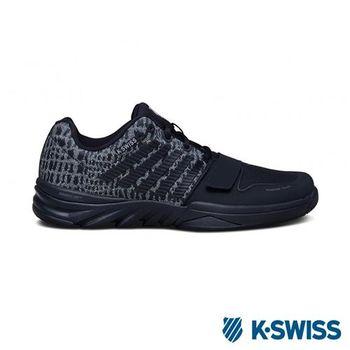 K-Swiss X Court 全方位運動鞋-男-黑/灰