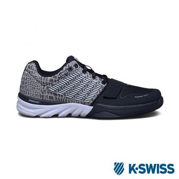 K-Swiss X Court 全方位運動鞋-男-黑/白