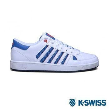 K-Swiss Barnwell S休閒運動鞋-男-白/藍